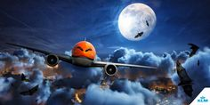 Air Transat, Happy Halloween, Toms, Sci Fi, Germany, Canada, Sky, France, Travel