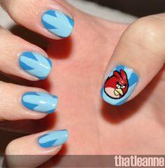 Fish Tail Braid Nail Art | AmazingNailArt.org