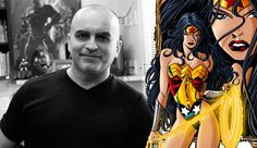 Mike Deodato e Mulher Maravilha/ Mike Deodato and Wonder woman