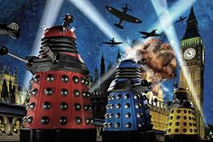 The Daleks in London during World War ii