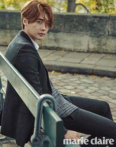 Lee Jong Seok's Wet Autumn Tour of Paris for Marie Claire Korea's November 2015 Issue | Couch Kimchi