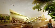 OODA: helsinki central library proposal   designboom