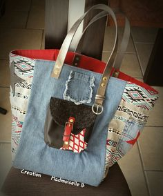 Madmoiselle B Creation My bag style Pomponnette <3