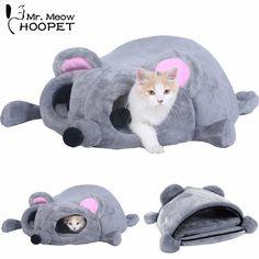 23 grandes L x 27 W Cute Shell Shape Lavable Comfy Gatos Suaves Polar o Perros Invierno C/álido Sleeping Matress Cama Doghouse Coj/ín Gris,