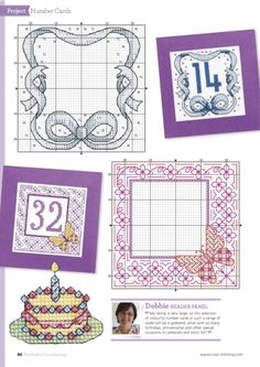 ru / Фото - The world of cross stitching 238 - tymannost Cross Stitch Boarders, Cross Stitch Bookmarks, Mini Cross Stitch, Cross Stitch Cards, Cross Stitch Alphabet, Cross Stitch Samplers, Cross Stitching, Embroidery Cards, Blackwork Embroidery