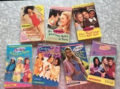 1997 Clueless Movie/TV show novel adaptations by SweetEmotionVintages on Etsy Clueless Quotes, Perfume Versace, 90s Tv Shows, Dancing Baby, Young Adult Fiction, Story Prompts, Rugrats, Chapter Books, Giorgio Armani