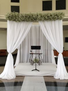 Beautiful wedding canopy I created for a modern/ rustic wedding