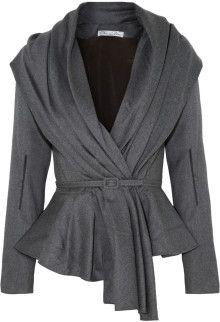 Oscar de la Renta Skyline Belted Woolblend Jacket - Lyst Olivia Pope Style, Outfit Elegantes, Looks Plus Size, Business Outfit, Kitenge, Mode Hijab, Mode Vintage, Work Wardrobe, Lehenga