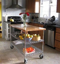 Pictures - 20 Sensational small space kitchen islands leaving you inspired - San Diego interior decorating   Examiner.com