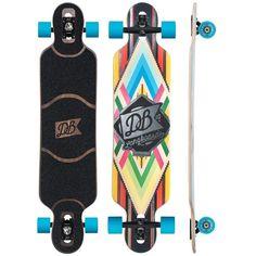 Amazon.com : DB Longboards 2015 Cabrakan 38 Longboard Complete : Sports & Outdoors