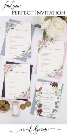 Find the perfect wedding invitation to give your guests a memorable first impression of your wedding. Wedding Cards, Diy Wedding, Rustic Wedding, Wedding Ceremony, Dream Wedding, Wedding Day, Unique Wedding Invitations, Wedding Invitation Templates, Wedding Stationery