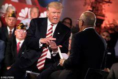 Republican Donald Trump praised the 'strong control' Russian President Vladimir…