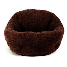 Best Friends by Sheri OrthoComfort Deep Dish Cuddler in Sherpa Brown 20x20x12 >>> More info could be found at the image url.