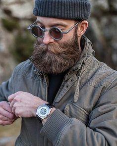 vintage beard