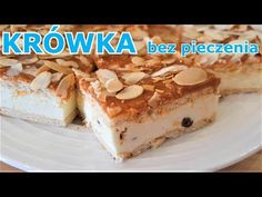 Ekspresowa krówka - szybkie ciasto bez pieczenia - idealne dla niespodziewanych gości - YouTube Tiramisu, Cooking, Breakfast, Ethnic Recipes, Sweet, Sissi, Youtube, Food, Cakes