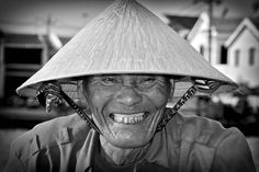 Vietnam - The Old Smiling Man of Hoi Ann