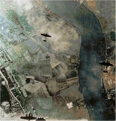 Dornier Do 17s over Woolwich Arsenal