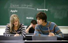 #Apple, #Samsung and #Nokia... ...