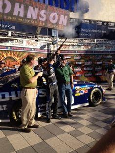 PHOTOS (Nov. 2, 2012): Johnson earns pole position at Texas. More: http://www.hendrickmotorsports.com/news/photos/2012/11/02/Johnson-earns-pole-position-at-Texas#.
