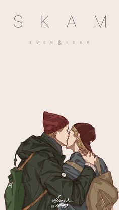 Best ideas for wallpaper riverdale couple Norway Wallpaper, Skam Wallpaper, Henrik Holm Skam, Skam Cast, Skam Tumblr, Romantic Drawing, Arte Van Gogh, Isak & Even, Les Religions