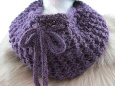 Alpaca Cowl - pinned by pin4etsy.com