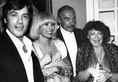 Mireille Darc et Alain Delon Archives - Alain Delon, Mireille Darc, Sean Connery et Regine a Marbella