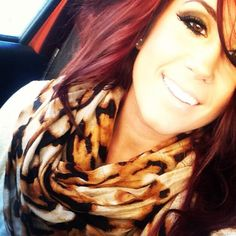 She definitely has the whole beauty and fashion thing down pat, but would you ever have guessed that Teen Mom 2 star Chelsea Houska is a whiz in the k. Chelsea Houska Hair Color, Chelsea Deboer, Teen Mom, Dream Hair, Love Hair, All Things Beauty, Hair Dos, New Hair, Hair And Nails