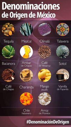 Productos con denominación de origen, mi México lindo!