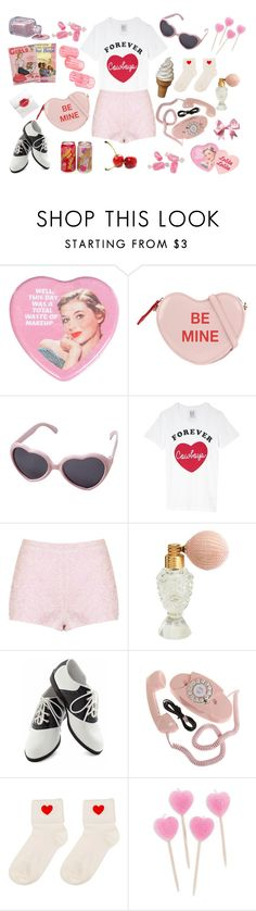 """""""sweet like sugar venom"""" by starlettekay ❤ liked on Polyvore featuring Miss Selfridge, ALDO, Vie Active, Zoe Karssen, Topshop, Pinup Couture, vintage, Pink, red and nymphet"""