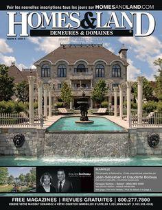 -- Volume 6 Issue 5 -- Homes&Land Demeures & Domaines by Claudette Boiteau et Jean-Sebatioen Boiteau