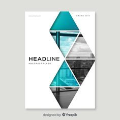 Design cover flyer and brochure business template for annual report Vector Brochure Cover Design, Graphic Design Brochure, Graphic Design Posters, Graphic Design Inspiration, Brochure Template, Brochure Layout, Booklet Design, Book Design Layout, Book Cover Design