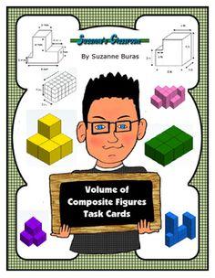 Volume of Composite Figure Quiz | TpT Math Lessons ...