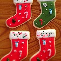 Christmas Cookie#icingcookies#sugarcookies #アイシングクッキー#クリスマス
