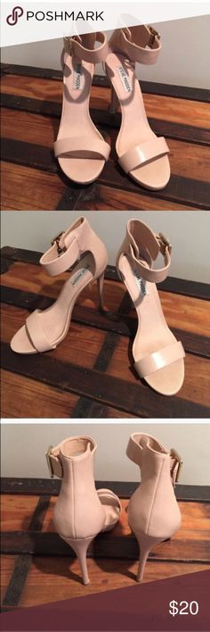 Steve Madden Marlene heels Re-Posh.  Just too small for me. There is another post where these shoes are listed as SOLD but the buyer tried to back out once the shoes were almost shipped. Relisting so that someone else may buy them and enjoy them. Steve Madden Shoes Heels