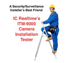 """The ITM-9000 Tester simplifies the field installation by allowing an installer to easily set up, connect and preview analog, AVS and IP cameras. Instead of going back and forth to a monitor to check correct angles you can instantly see and measure the performance with the live video on your 4"""" color screen and make adjustments as needed. This tester also has built-in POE support without the need of an injector or a POE switch which gives much more flexibility in field installations."""