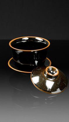 """""""Anta Pottery"""" Tenmoku Gaiwan  #Tenmoku #Gaiwan"""