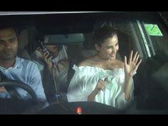 Daisy Shah & Elli Avram at special screening of Salman Khan's SULTAN movie at Yash Raj Studio.