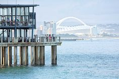 Just another exceptional day in the Zulu Kingdom with a stunning view of Durban from the Moyo Pier. #GottaLuvKZN Photo Cred: Dennis Guichard