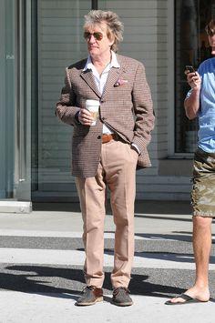 Rod Stewart : chic britannique