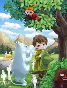 Tags: Anime, Fanart, Pixiv, Moomin, Snufkin Happy Cartoon, Cartoon Pics, Moomin Wallpaper, Grafic Novel, Tove Jansson, Moomin Valley, The Last Unicorn, Fan Art, Cute Characters