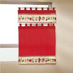 Juego de cortinas Verduras #Cocina #Accesorios #Decoracion #Hogar #IntimaHogar  #Verduras