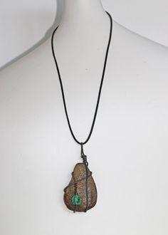 Stone necklace by MySparklingNest on Etsy
