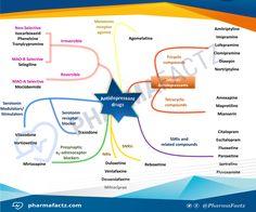 Image result for depression drugs mindmap