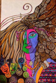 Commissioned original: Emmie's inner goddess  https://www.etsy.com/shop/aSoulFullofArt