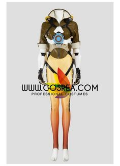 Overwatch Tracer Complete Cosplay Costume