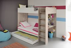 Bunk bed with drawer