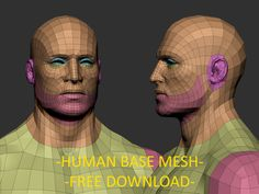 Hi folks, something that I always do in any project is start with some base for speed up the process and the best way is with a good base mesh that contain the main loops and low polys count, so decided share with you guys my own base mesh for free. Download: https://drive.google.com/file/d/0B8gQoiqwkSnaaENCQjh4Ynk5S3c/view?usp=sharing Hope you find it usefull.