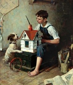 Norman Rockwell by sally