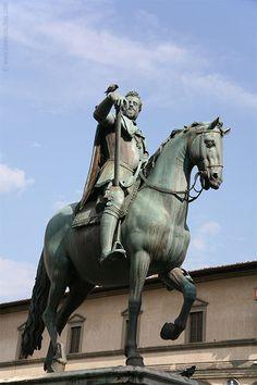 Equestrian Statue of Ferdinando I *-*