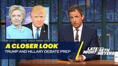 Trump and Hillary Debate Prep: A Closer Look